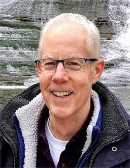 Doug at waterfall